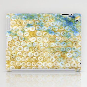Buttons ©, digital art iPad Case by JUSTART