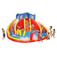 Amazon.com: Banzai Twin Drop Falls Water Park: Toys & Games