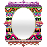 DENY Designs Home Accessories | Bianca Green Overdose 1 Quatrefoil Mirror