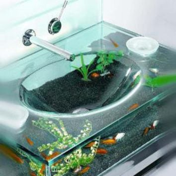 aquarium sink opulentitems from on