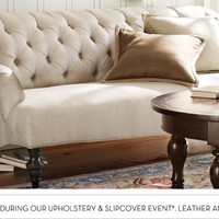 Home Theater Seating, Home Theater Seats &amp; Futon Sofas | Pottery Barn