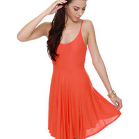 BB Dakota by Jack Laura Dress - Orange Dress