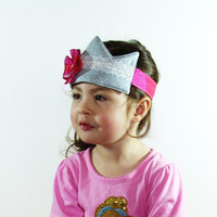 Girl's Dress up Princess Crown by SweetSapling on Etsy