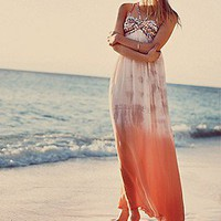 Free People  Snake Goddess Maxi Dress at Free People Clothing Boutique