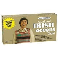 Instant Irish Accent Gum