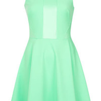 **Panel Skater Dress by Love