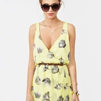 Fresh Cut Chiffon Dress