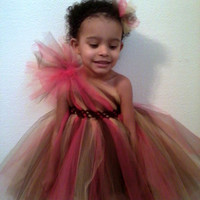 One Shoulder Tutu Dress (Girls)