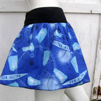Doctor Who Skirt shirt S-XL DiY geek derby Dalek dr Tardis from Licensed fabric