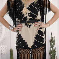 Lolita Fringe Dress - Storm | Spell