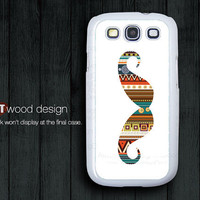 mustache colors Samsung phone case Galaxy SIII case Case Samsung Case Galaxy S3 i9300 case