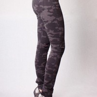 Nico Skinny Black Camo  - Bottoms
