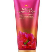 Victoria`s Secret Mango Temptation Ultra-moisturizing Hand and Bosy Cream (New Look) 6.7 Fl Oz,200 Ml: Beauty