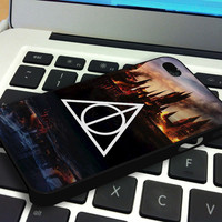 Harry Potter Deathly Hallows Iphone  4 Case  Iphone 4S Case