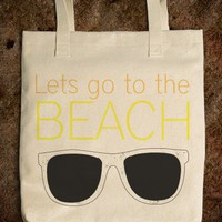 Lets go to the beach  - Love - Skreened T-shirts, Organic Shirts, Hoodies, Kids Tees, Baby One-Pieces and Tote Bags