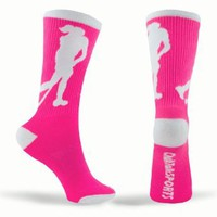 Amazon.com: Field Hockey Socks (Pink): Clothing