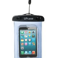 Amazon.com: Waterproof Case for Apple iPhone 5, 4, 4S - Also Works with iPod Touch 3, 4, iPhone 3G, 3GS, & Other Smartphones - IPX8 Certified to 100 Feet - Light Blue: Cell Phones & Accessories