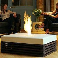Unique Flame Table - OpulentItems.com