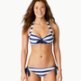 Aerie Striped Retro Halter Bikini Top | Aerie for American Eagle