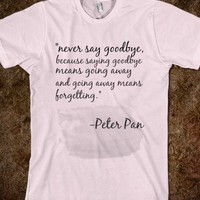 Peter Pan - The Unique Boutique - Skreened T-shirts, Organic Shirts, Hoodies, Kids Tees, Baby One-Pieces and Tote Bags