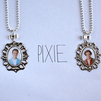 Boy Meets World Friendship cameo necklaces Cory and Shawn