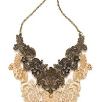 Adia Kibur Floral Statement Necklace | SHOPBOP