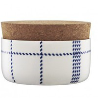 Mormor Blue Sugar Bowl w/cork