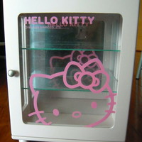 Hello Kitty Wooden Jewelery Cabinet New Free Shipping