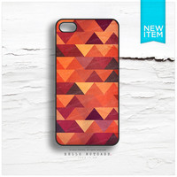 iPhone 4 and iPhone 4S case Aztec Navajo Style Pattern, Tribal Pattern in Pink I11
