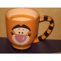 Amazon.com: **NEW** Disney Tigger Theme Park EXCLUSIVE Large Spiral Mug: Home & Kitchen