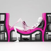 Modern sole Bookshelves - OpulentItems.com