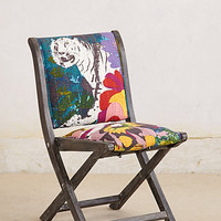 Overdyed Terai Folding Chair