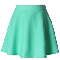 Pastel Green Circle Skirt