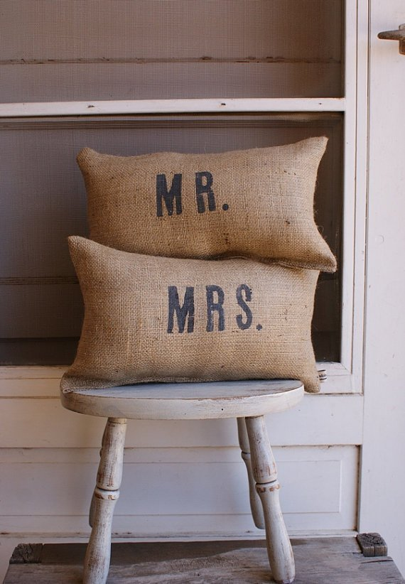ORIGINALPetite Mr and Mrs Set Exclusively by My by myadobecottage