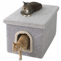 Miller's Cats Litter Box Enclosure - Litter Box Enclosures - Litter & Accessories - PetSmart