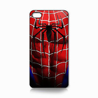 iPhone case - The Amazing Spiderman Body Armor - iPhone 4,4s or 5 Cover  (Black, White or Clear Case)