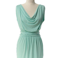 The 2-Way Dress in Mint (20% Off) by Seeker - Chictopia