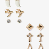 Birds &amp; Wishbones Stud Set