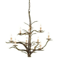 Treetop Chandelier  in  Home Shop Lighting Pendants  Chandeliers at Terrain