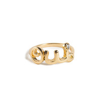 Oui Knuckle Ring - 2020AVE