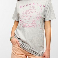Maptote Brooklyn City Map Tee