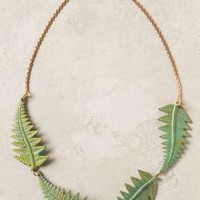 Fern Quartet Necklace - Anthropologie.com
