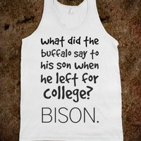 Bison. - Cats Are Cool - Skreened T-shirts, Organic Shirts, Hoodies, Kids Tees, Baby One-Pieces and Tote Bags