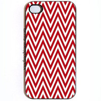 iPhone 4 iPhone 4s iPhone 5 Red Chevron Hard Snap On iPhone 4 iPhone 4s iPhone 5 Case