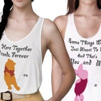 Pooh and Piglet Besties Tanks :)