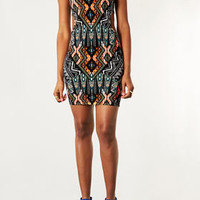 Tribal Cutout Bodycon Dress - Dresses  - Clothing