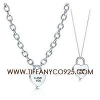 Shopping Cheap Tiffany Notes I Love You Heart Lock Charm Set At Tiffanyco925.com - Discount Tiffany Setting