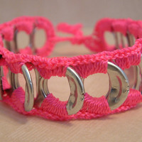 ReCycladelic Pop Top Bracelet Popping Pink bright pink by lanmom