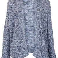 Knitted Tweedy Rib Cardi - Knitwear - Clothing - Topshop USA