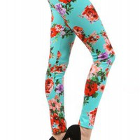 Aqua Rose LeggingsPurchase